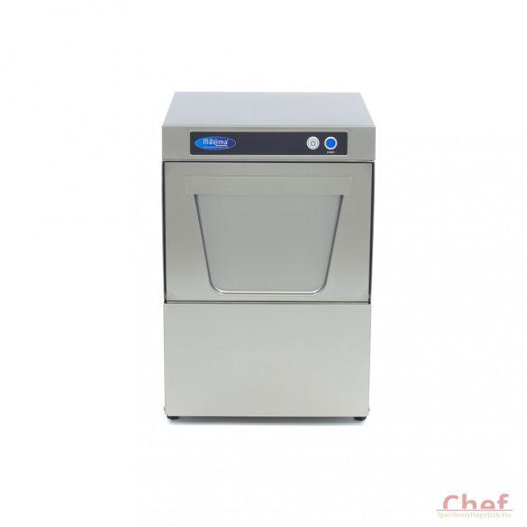 Maxima ipari mosogatógép VNG-350, Pohármosogató, 230V, 3,3kW