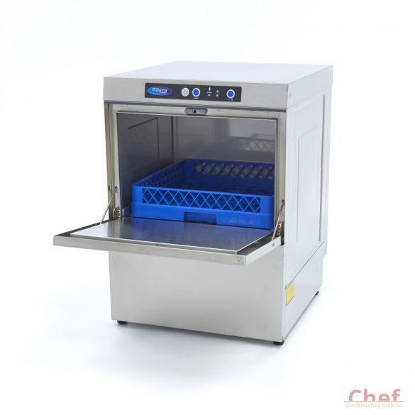 Maxima ipari mosogatógép VN-500 Ultra, 230V vagy 400V,  3,6kW