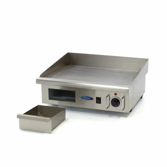 Maxima Ipari rostlap, grill lap, MGRILL Smooth Electric Grill, W548 x D350 mm