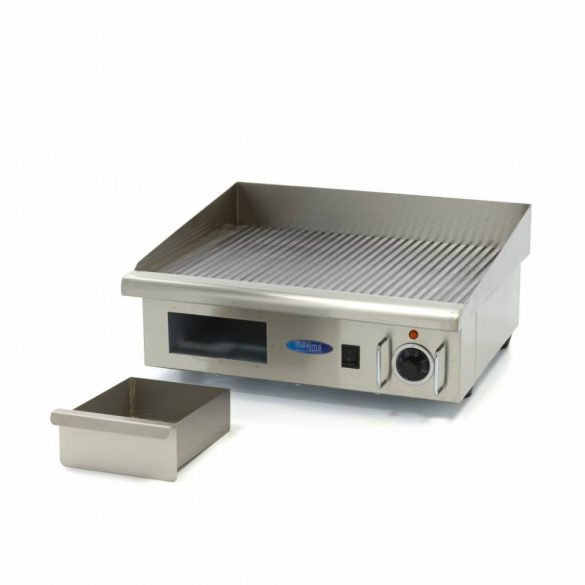 Maxima MGRILL Grooved Electric Grill, Rostlap, grill lap W548 x D350 mm