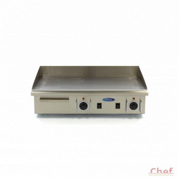 Maxima Ipari rostlap, grill lap, MGRILL Big Smooth Electric Grill, W728 x D400 mm