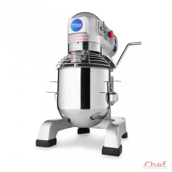 Maxima Ipari dagasztógép, keverőgép, habverő gép, Planetary Mixer MPM 10, 10L