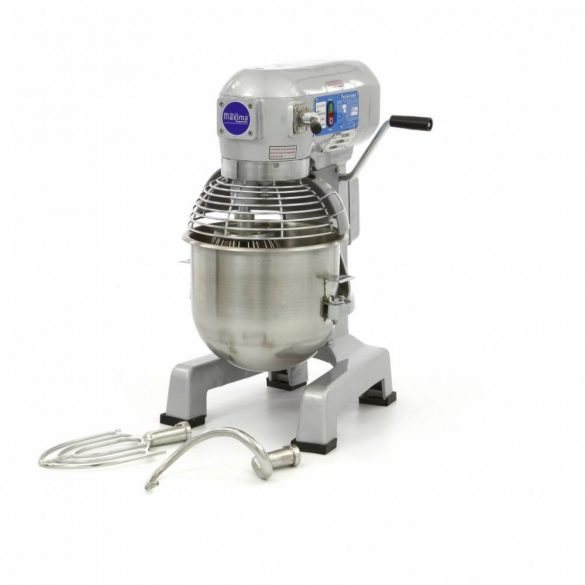 Maxima ipari dagasztógép, keverőgép, habverő gép, Planetary Mixer MPM 20, 20L