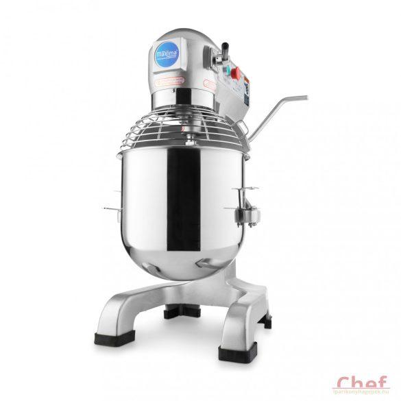 Maxima dagasztógép, keverőgép, habverő gép, Planetary Mixer MPM 30, 30L
