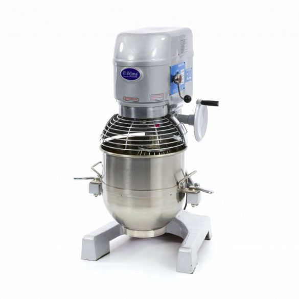 Maxima Ipari dagasztógép, keverőgép, habverő gép, Planetary Mixer MPM 30, 30L