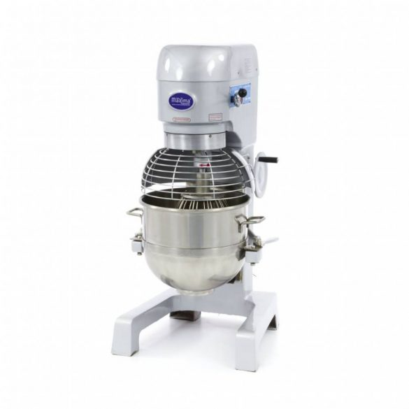 Maxima dagasztógép, keverőgép, habverő gép, Planetary Mixer MPM 40, 40L