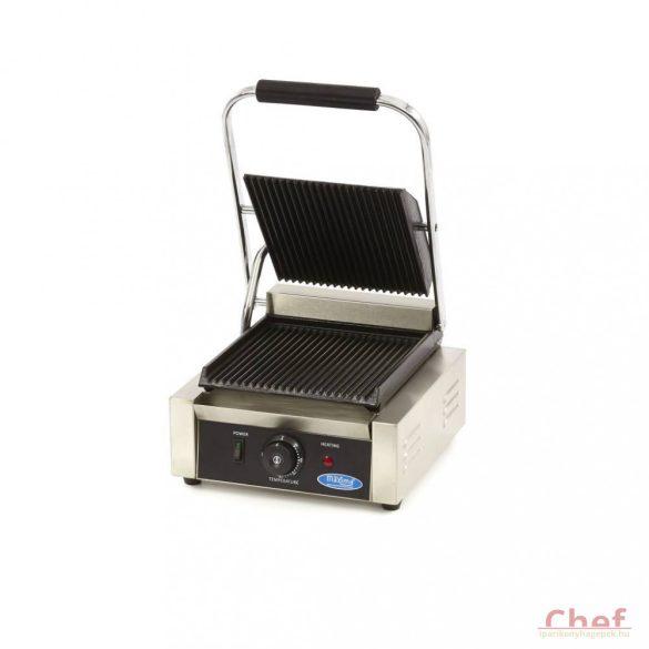Maxima Ipari kontakt grill, MCG Single Grooved Contact Grill, W220 x D235 mm