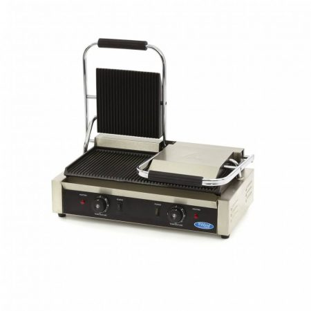 Maxima MCG Double Grooved Contact Grill, kontakt grill, W220 x D235 mm