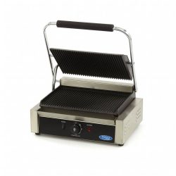 Maxima MCG Panini Grooved Contact Grill, kontakt grill, W335 x D220 mm