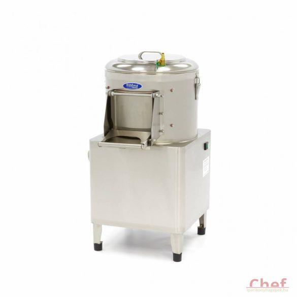 Maxima Ipari burgonyakoptató zöldség tisztítógép, Peeler MPP 8, kapacitás: 8kg, 160kg/óra