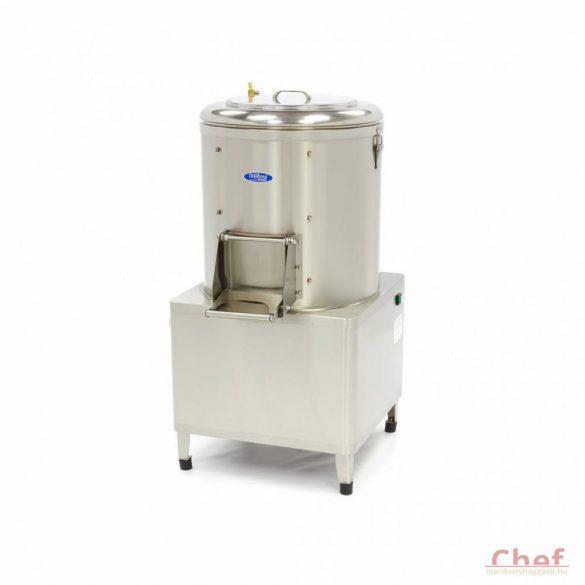 Maxima Ipari burgonyakoptató zöldség tisztítógép, Peeler MPP 30, kapacitás: 30kg, 600kg/óra