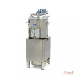 Maxima Deluxe Peeler DPP 20, Burgonya koptató, zöldség tisztítógép, kapacitás: 20kg, 400kg/óra