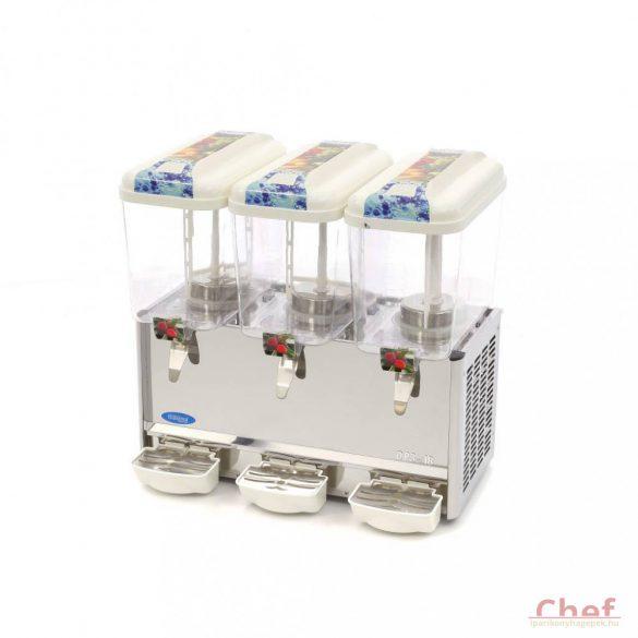 Maxima DP3-18 Dispenser Ital hűtő, 3×18 liter