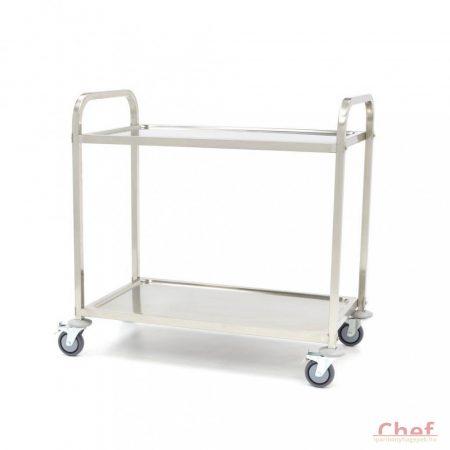 Maxima Dining Cart 2 Levels, Szállíttó kocsi, 2 polc