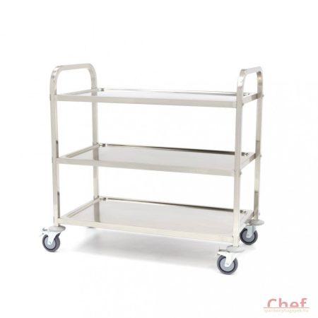 Maxima Dining Cart 3 Levels, Szállíttó kocsi, 3 polc