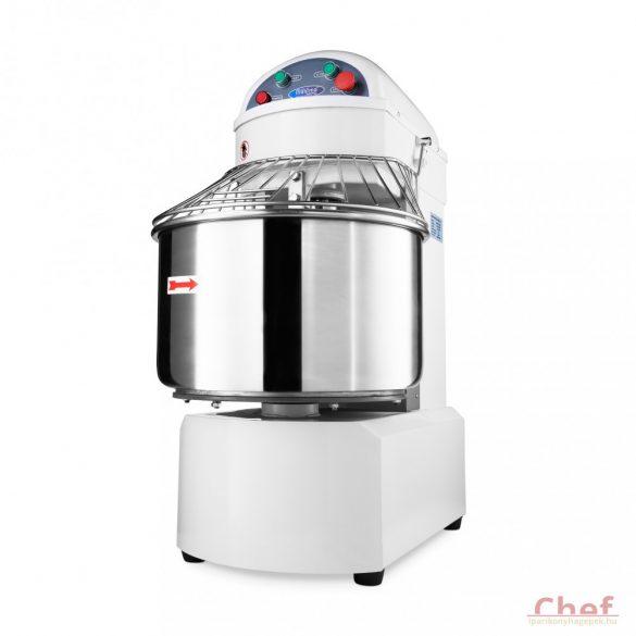 Maxima ipari dagasztógép, tésztagép MSM 50, 32kg tésztához, 2 sebesség