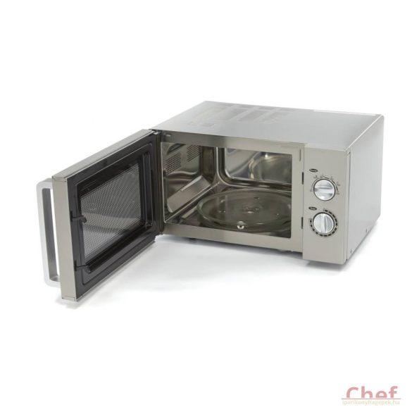 MAXIMA Ipari mikrohullámú sütő, Manual, 900W 25l