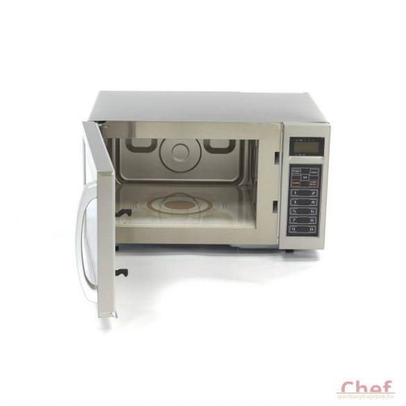 MAXIMA Ipari mikrohullámú sütő, Digitális, 1000W 25l