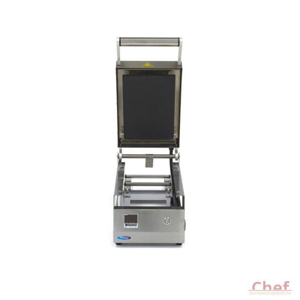 MAXIMA Ipari tálcazáró fóliahegesztő gép, Small 250 x 180 mm
