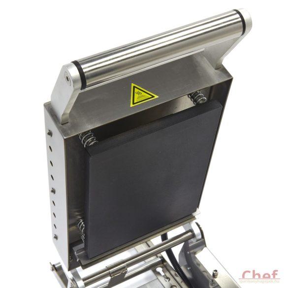 MAXIMA Ipari tálcazáró fóliahegesztő gép, Medium 270 x 220 mm