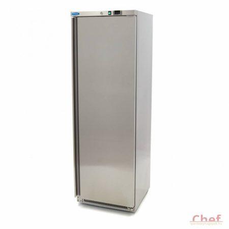 Maxima Freezer FR 400 Stainless Steel, Fagyasztó szekrény 360