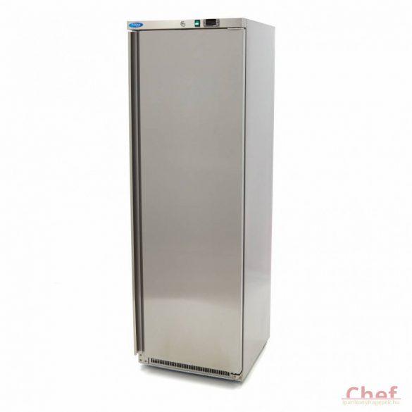 Maxima Ipari hűtőszekrény, Refrigerator R 400 Stainless Steel, 360l