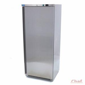 Maxima Ipari fagyasztószekrény Freezer FR 600 Stainless Steel, 570