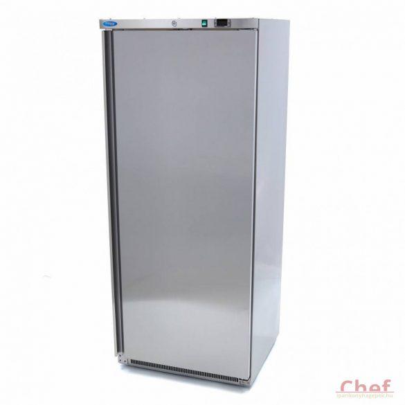 Maxima Refrigerator R 600 Stainless Steel,  hűtőszekrény 570l