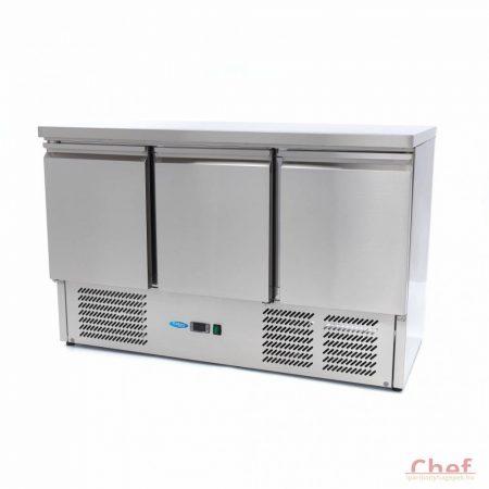 Maxima Refrigerated Work Table SAL 903 , munkaasztal hűtőszekrény 400l