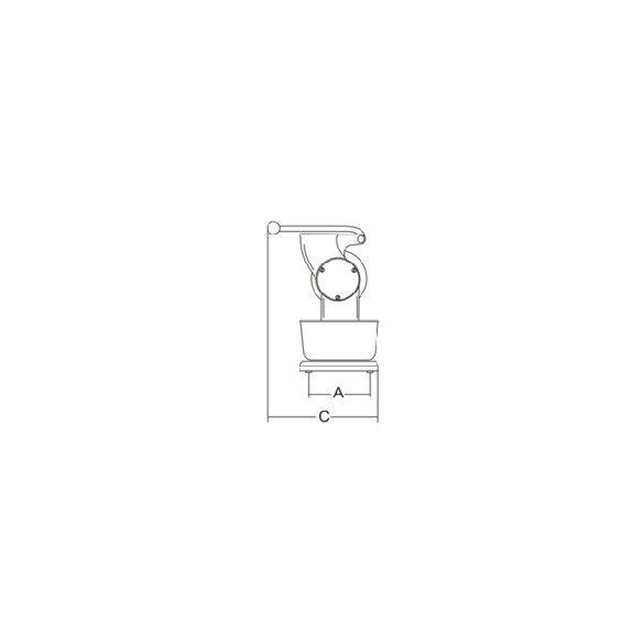SIRMAN Ipari sajtreszelő gép, GP
