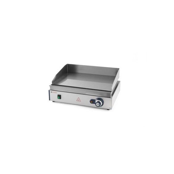 HENDI Ipari Grill, Rostlap, grill lap sima felülettel, 550*380mm, 2400W
