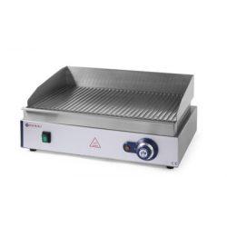 HENDI Grill, Rostlap, grill lap bordás rácsos felülettel, 550*380mm, 2400W