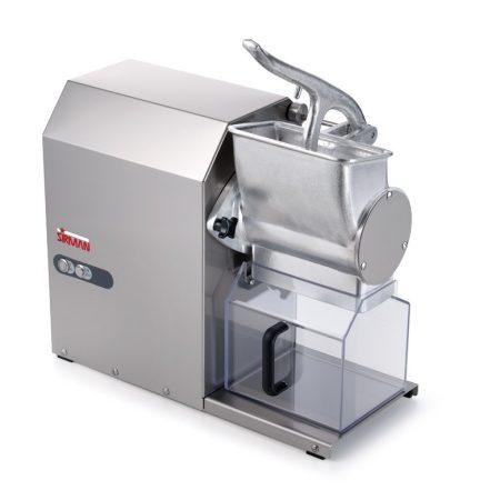 SIRMAN GFX HP 2,0 INOX, sajtreszelő, Bemutató darab, raktárról azonnali átvétel
