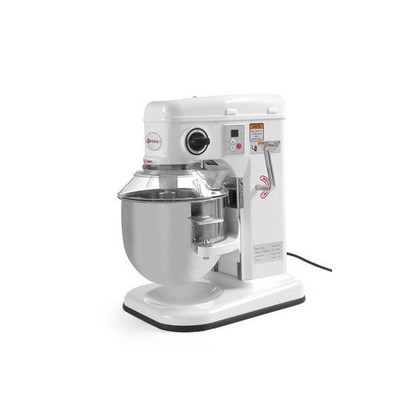 HENDI Ipari dagasztógép, keverőgép, habverő gép, HEAVY DUTY MIXER 7 Liter