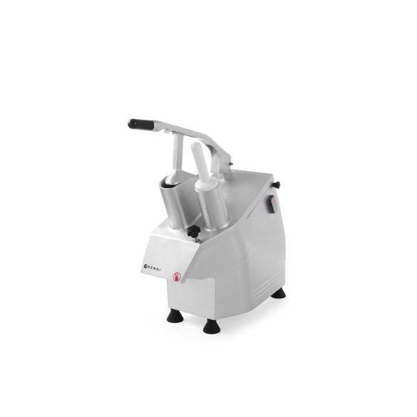 HENDI Ipari szeletelőgép zöldséghez, 5db szeletelő tárcsát tartalmaz az ár