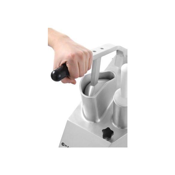 HENDI szeletelőgép zöldséghez, heavy Duty,5db szeletelő tárcsát tartalmaz az ár