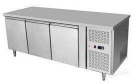 HENDi Asztali fagyasztó hűtőszekrény 2 ajtós, Mérete: 1360x700x(H)850