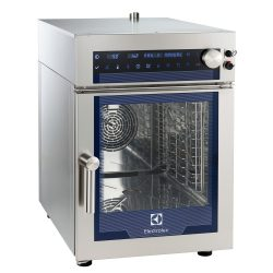 Electrolux Multi Slim elektromos kombisütő 11 fokozatú páratartalom szabályzás, 6GN 1/1 automata tisztító rendszer