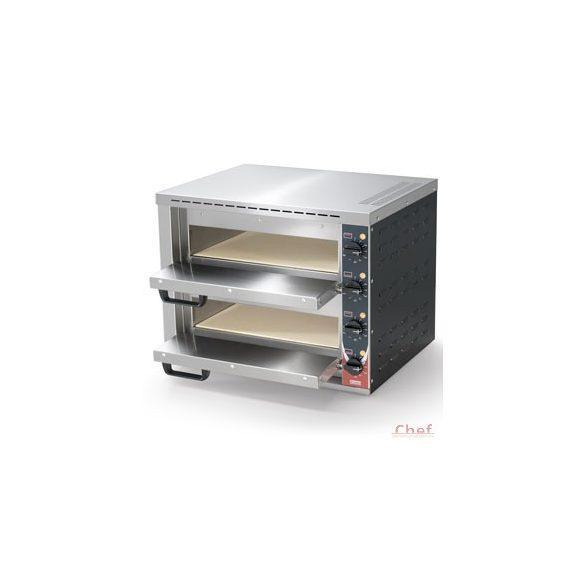 SIRMAN Ipari Pizza sütő, FORNO PIZZA Stromboli2 , 2db kemence