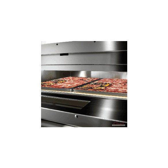 SIRMAN Ipari Pizza sütő, FORNO PIZZA Vesuvio 70x70, 1 kemence