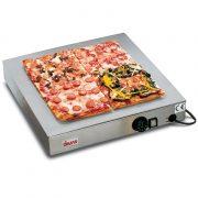 SIRMAN melegentartó lapPiastra Scalda pizza Inox, rozsdamentes