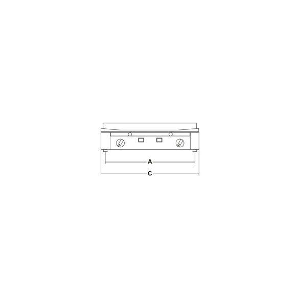 SIRMAN főző és szeletsütő lap PD VETROCERAMICA