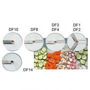 SIRMAN szeletelőgép tárcsa, DF sorozat 1,2,3,4,8 10, 14mm választható méretben