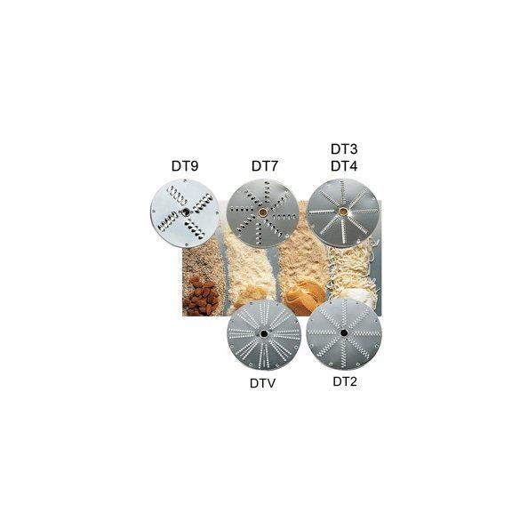 SIRMAN Ipari szeletelőgép tárcsa, reszelő DTV választható 1, 2,3,4,7,9 mm