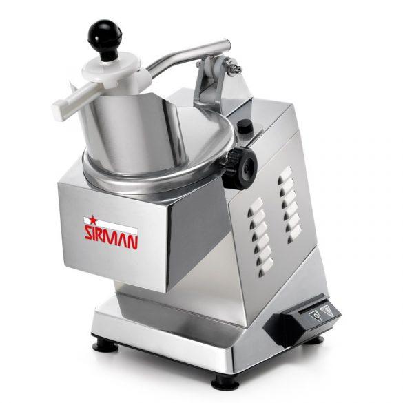 SIRMAN Ipari szeletelőgép zöldséghez, TM2 INOX, szeletelőtárcsa nélkül, Legideálisabb nagy teljesítményű sajtreszelő gép!