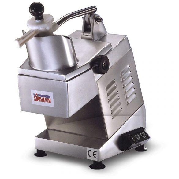 SIRMAN Ipari szeletelőgép zöldséghez, szeletelőtárcsa nélkül, alumínium, TM2 ALL Legideálisabb nagy teljesítményű sajtreszelő gép!
