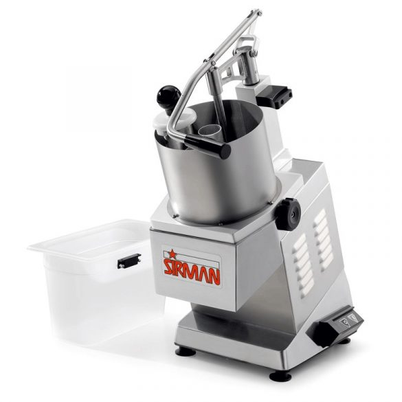 SIRMAN Ipari szeletelőgép zöldséghez, TM TG, szeletelőtárcsa nélkül