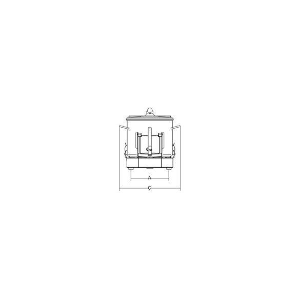 SIRMAN Ipari burgonyakoptató LCJ 6, kapacítás 6kg,