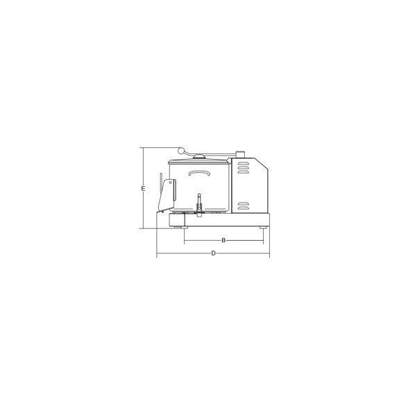 SIRMAN LCJ 6, Burgonyakoptató kapacítás 6kg,