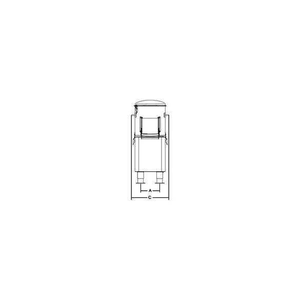SIRMAN Ipari burgonyakoptató PPJ 10 SC,kapacítás 10kg,